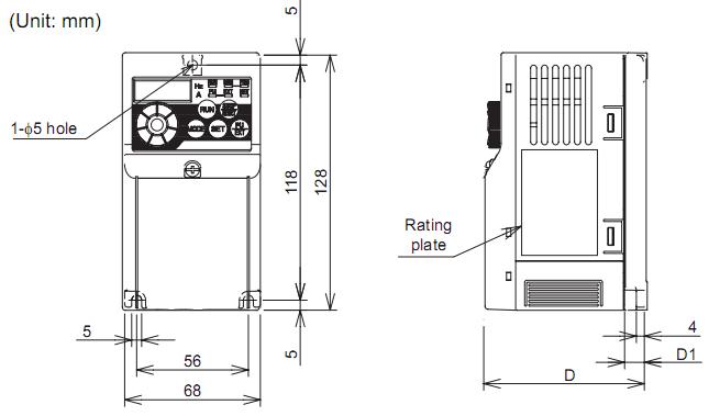 Biến tần Mitsubishi FR-D720S-0.75K