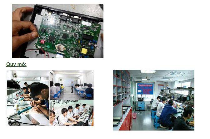 Sửa màn hình V810iC